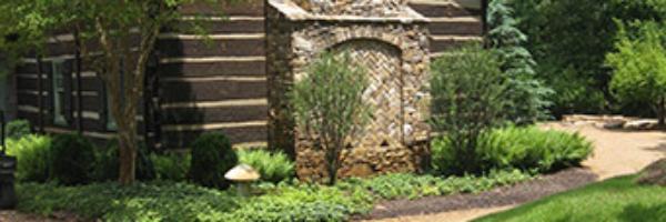 Rustic Hunting Lodge Fireplace